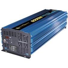 12V DC to 110V AC 6000W Power Inverter