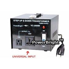 2000W Step Up / Down Voltage Transformer