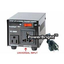 200W Step Up / Down Voltage Transformer