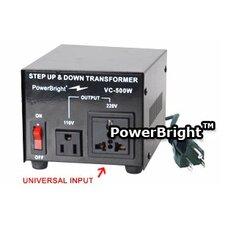 500W Step Up / Down Voltage Transformer