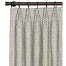 Gavin Cotton Grommet Single Curtain Panel