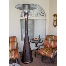 Complete Wicker Propane Patio Heater