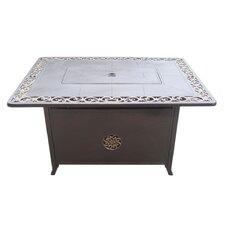 Cast Aluminum Propane Fire Pit Table