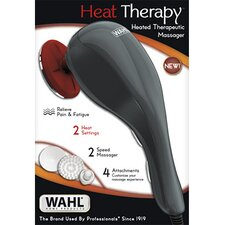 Massager Kit with Heat and 4 Attachment Heads