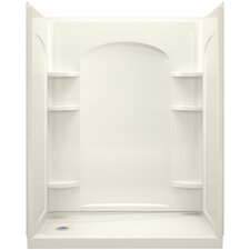 """Ensemble 32"""" x 60"""" x 76.5"""" Shower Wall with Age in Place Backers"""