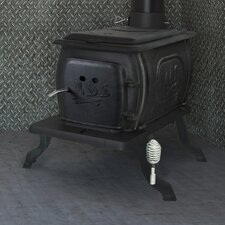 94,000 BTU EPA Certified Cast Iron Log 1600 Square Foot Wood Stove