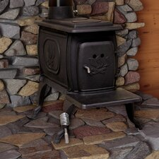 EPA Certified Cast Iron Log 900 Square Foot Wood Stove
