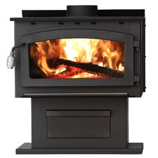 King 89,000 BTU EPA Certified 2000 Square Foot Wood Stove