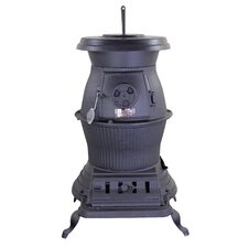 Railroad Potbelly 1,500 Square Foot Coal Stove
