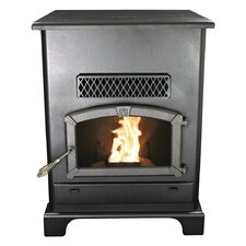 Pellet Stove with Ash Pan