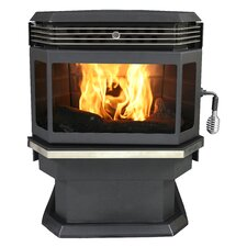 Bay Front 2,000 Square Foot Pellet Stove