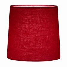 16 cm Lampenschirm Cylinder aus Stoff
