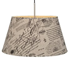 55 cm Lampenschirm Avesta aus Textil
