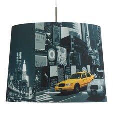 50 cm Lampenschirm Motiv aus Textil