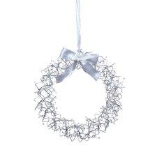 Bonny 45cm; Lighted Metal Wreath