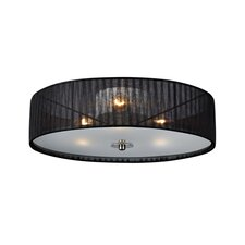 Byske 3 Light Flush Ceiling Light