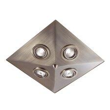 Deckenleuchte 4-flammig Pyramid