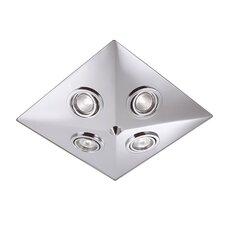 Deckenstrahler 1-flammig Pyramid