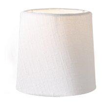 16 cm Lampenschirm Cylinder aus Textil