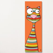 Canvas Cat Wall Mural