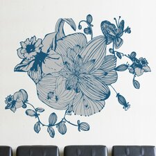 XXL Blossoms Wall Decal