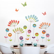 XXL Pompoms Wall Decal