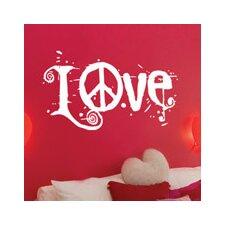 Blabla Peace and Love Wall Decal