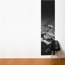 Fresk Black Sunset in the Himalayas of Nepal Wall Mural
