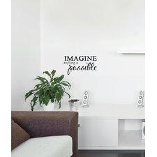 Blabla Imagine EN Wall Decal