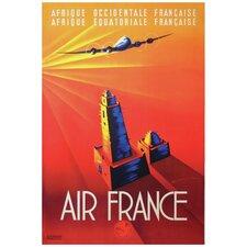 Air France Vintage Advertisement