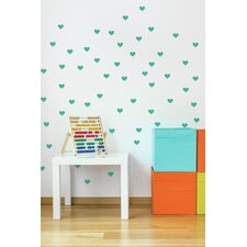 Forme Little Hearts Wall Mural