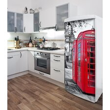 Domo London (Fridge) Wall Decal