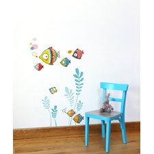 Ludo the Bubble Family Wall Decal