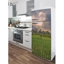 Domo Rice Fields in Bali Wall Decal