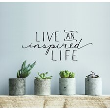Blabla Inspired Life Wall Decal