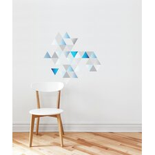 Forme Shaded Triangles Wall Decal