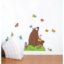 Ludo in the Field Wall Decal