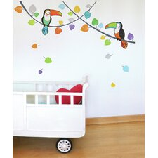 Ludo Toucans Wall Decal