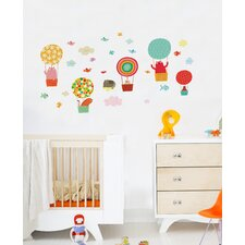 Piccolo Cat Balloon Wall Decal