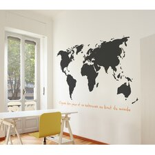 XXL Monde Wall Decal