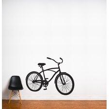 XXL Bike Ride Wall Decal