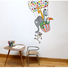 Ludo a Balloon Ride Wall Decal