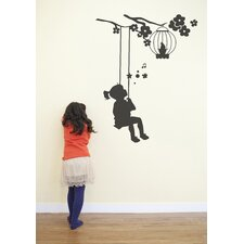 Piccolo Swing Wall Decal