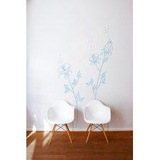 XXL Blue Pollen Wall Decal
