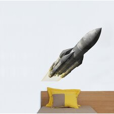 Piccolo Rocket Wall Decal