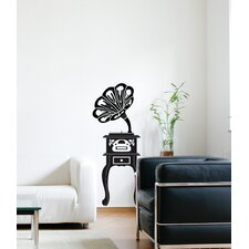 Spot Phonograph Wall Decal