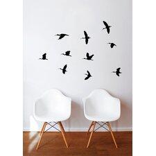 Spot Birds Flight Wall Decal
