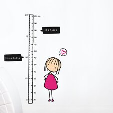 Piccolo Watch Me Grow! Girl Growth Chart