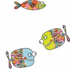 Ludo Big Fishes Wall Sticker