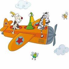 Ludo Friends in Flight Wall Decal